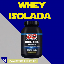 Whey Isolada us nutrition